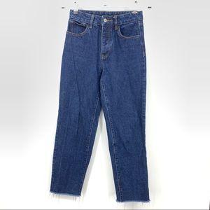 J. Galt Small Jeans Button Fly Straight Leg Cotton